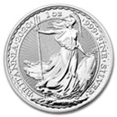 The Royal Mint Silver Britannia Coins (All)