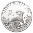 The Royal Mint Silver Lunar Coins
