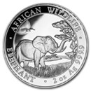Somalia Silver Elephant Coins (Other Sizes)