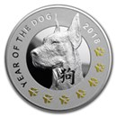 Silver Lunar Year of the Dog Products