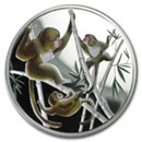 Year of the Monkey Fractional Silver