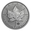 Canadian 1 oz Maple Leaf Platinum Coins