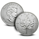 Royal Canadian Mint Maple Leaf Palladium Coins
