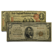 National Bank Notes (Large & Small)