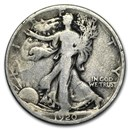 1920 Walking Liberty Half Dollar Good/VG