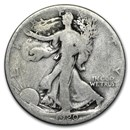 1920-S Walking Liberty Half Dollar Good/VG