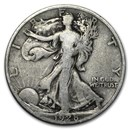 1928-S Walking Liberty Half Dollar Good/VG