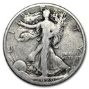1929-S Walking Liberty Half Dollar Good/VG