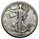 1935-S Walking Liberty Half Dollar VG/VF