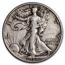 1938 Walking Liberty Half Dollar VG/VF