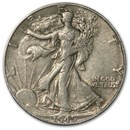 1945-D Walking Liberty Half Dollar Fine/VF