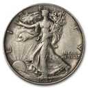 1937 Walking Liberty Half Dollar XF