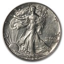 1944-D Walking Liberty Half Dollar AU
