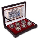 Roman Empire Silver 6-Coin Collection The Age of Chaos