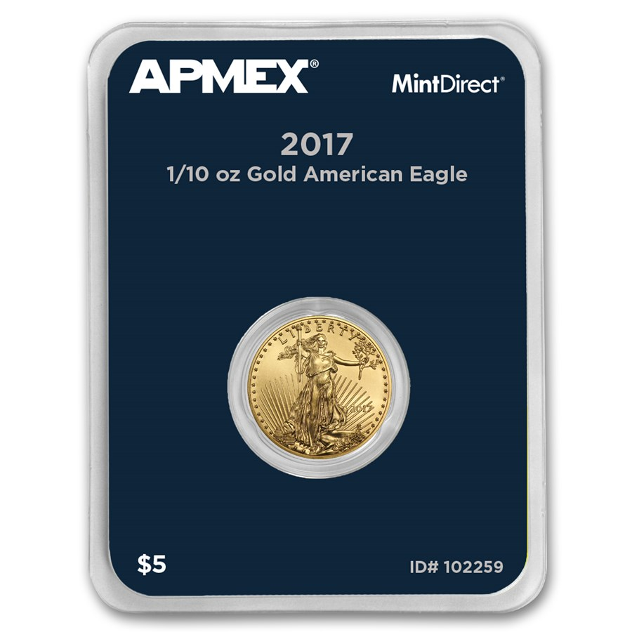2017 1/10 oz Gold American Eagle (MintDirect® Single)