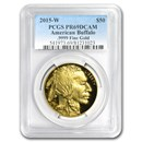 2015-W 1 oz Proof Gold Buffalo PR-69 PCGS