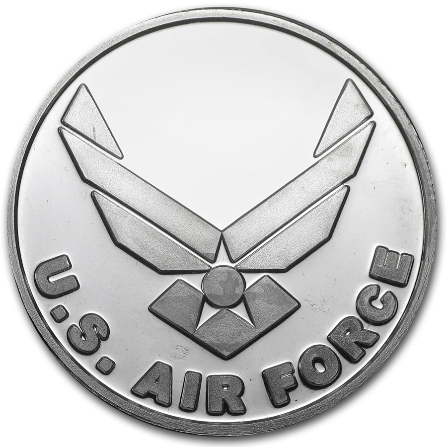 1 oz Silver Round - Air Force