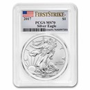 2017 Silver American Eagle MS-70 PCGS (FirstStrike®)