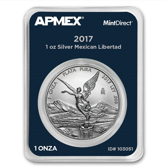 2017 Mexico 1 oz Silver Libertad (MintDirect® Single)