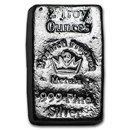 2 oz Hand Poured Silver Bar - MPM