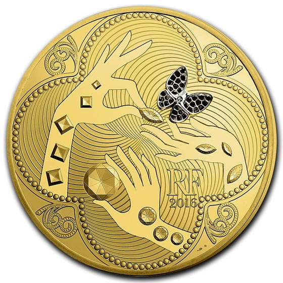 2016 1 kilo Prf Gold €5000 Excellence Series (Van Cleef & Arpels)