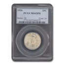 1926 Standing Liberty Quarter MS-65 PCGS (FH)