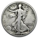 1918 Walking Liberty Half Dollar VG