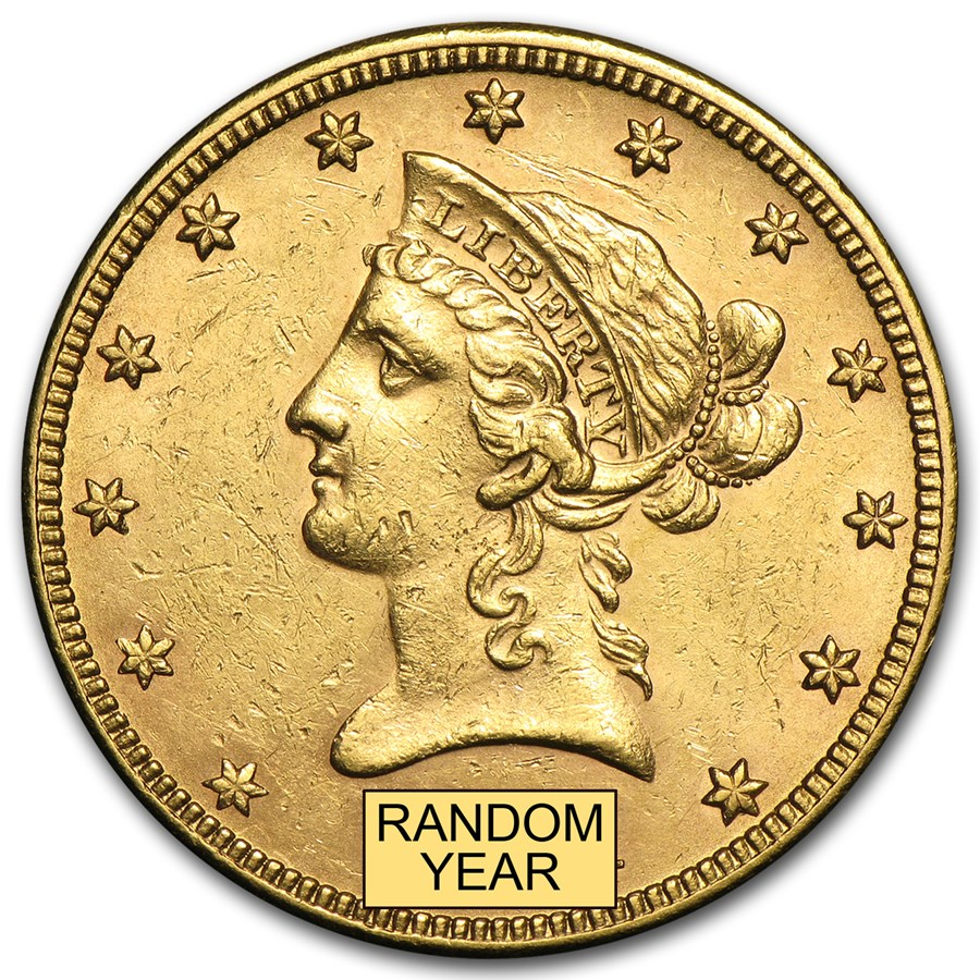 $10 Liberty Gold Eagle AU (Random Year)