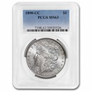 1890-CC Morgan Dollar MS-63 PCGS