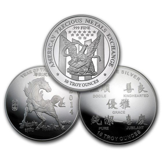 10 oz Silver Round - Secondary Market