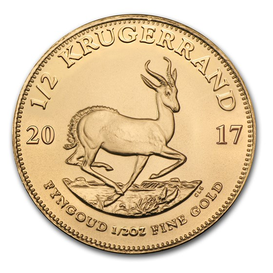 2017 South Africa 1/2 oz Gold Krugerrand