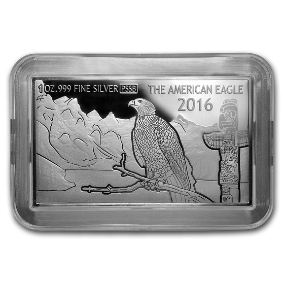 2016 Fiji 1 oz Silver 30th Anniv of the American Silver Eagle