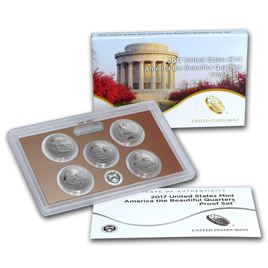 2017 America the Beautiful Quarters Proof Set