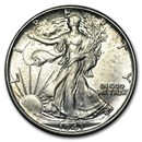 1943 Walking Liberty Half Dollar BU
