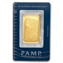 1 oz Gold Bar - PAMP Suisse Lady Fortuna (Classic Assay)