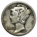 1926 Mercury Dime Good/VF