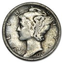 1926-D Mercury Dime Good/VG