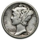 1929-S Mercury Dime Good/Fine