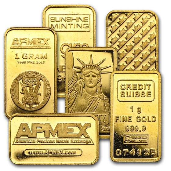 1 Gram Gold Bar Secondary Market