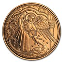 2017 Austria Cupro-Nickel €10 Guardian Angels (Michael)