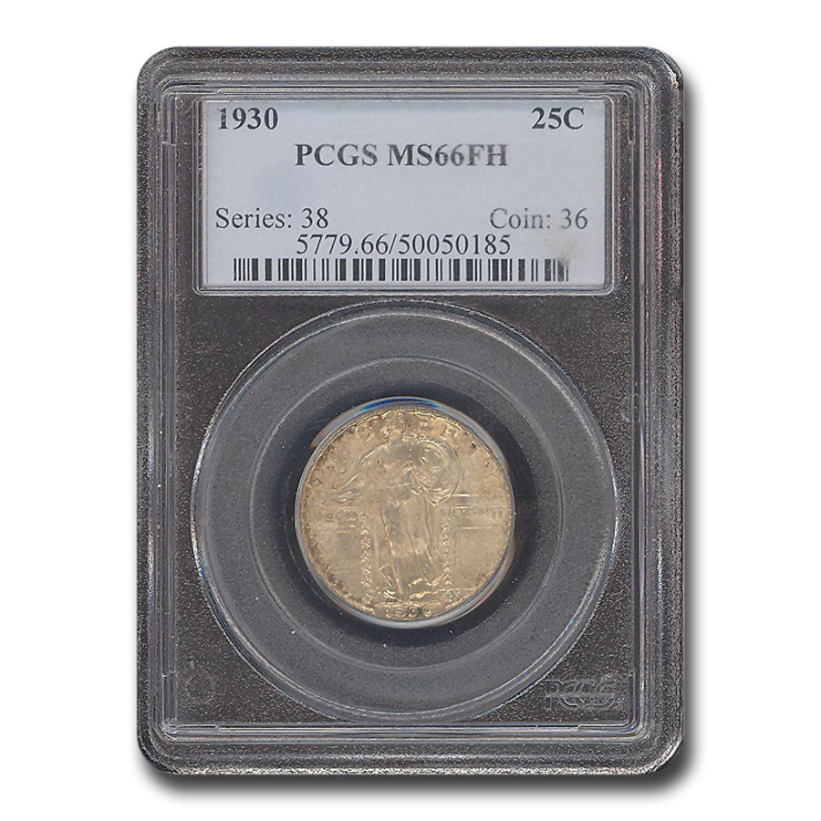 1930 Standing Liberty Quarter MS-66 PCGS (FH)