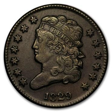 Half Cents (1793-1857) obverse