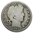 1902 Barber Half Dollar Good