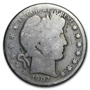 1902-O Barber Half Dollar Good