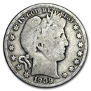 1909-O Barber Half Dollar Good