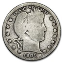 1908-D Barber Quarter Good/VG