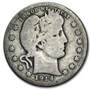 1914-D Barber Quarter Good/VG