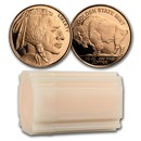 1/2 oz Copper Round - Buffalo (20 count tube)