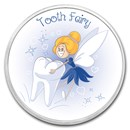 1 oz Silver Colorized Round - APMEX (Tooth Fairy Princess)