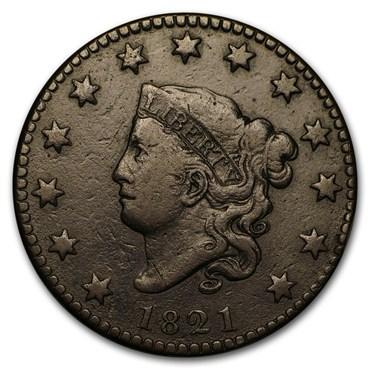 Large Cents (1793-1857) obverse